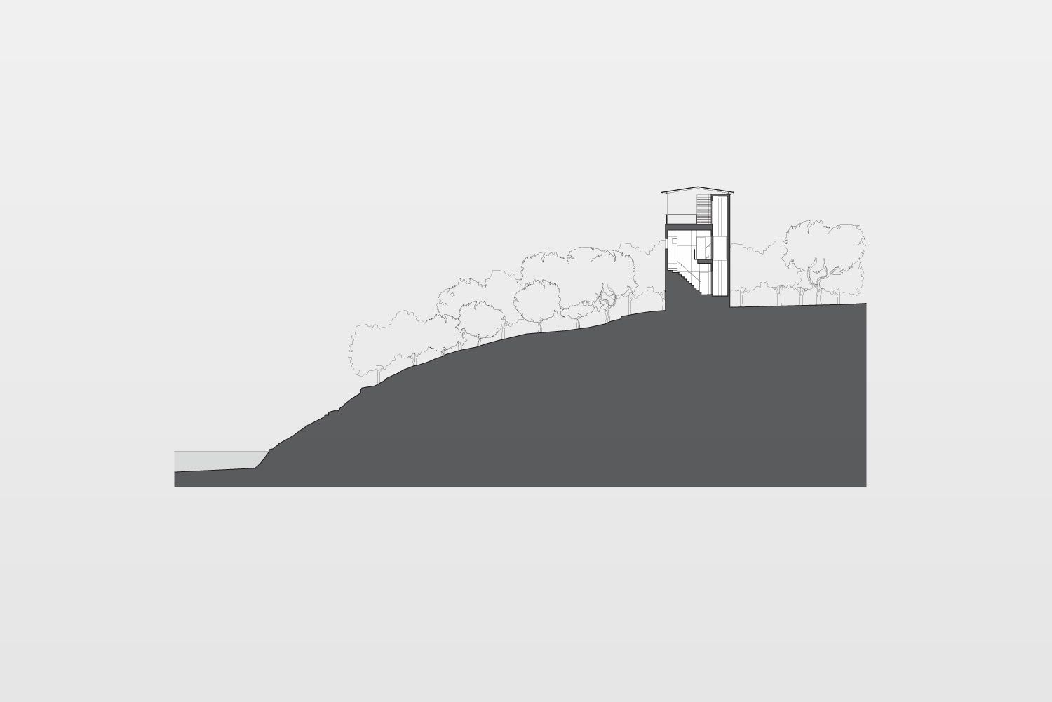 Tower House   Andersson-Wise Architects   Drawing ...