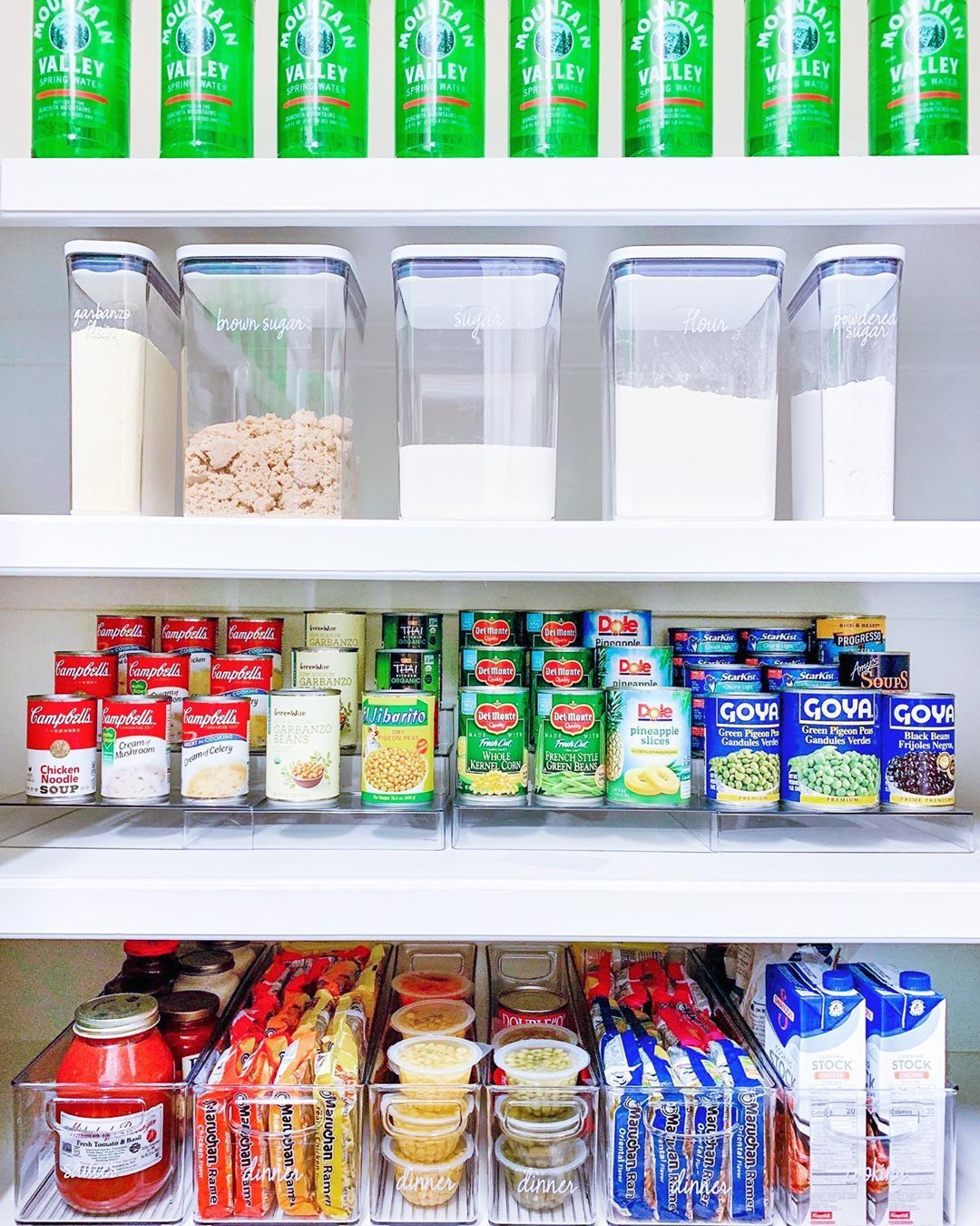 These Products From Amazon Crate Barrel Sur La Table And More Are Perfect For Organizing Your The Home Edit Canned Good Storage Kitchen Organization Pantry