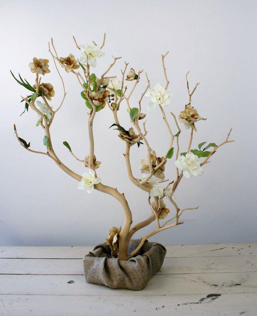wedding+tree+centerpieces | Manzanita Tree Country Style Wedding by ...