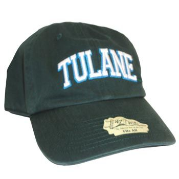 454aa8b91aa Tulane dark green freeman clean up hat.