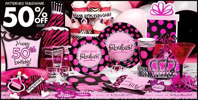 Another Year Of Fabulous 50th Birthday Party Supplies