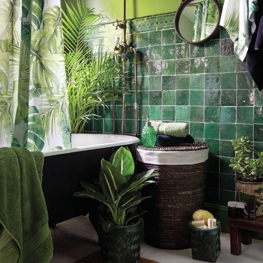 33 The Best Jungle Bathroom Decor Ideas