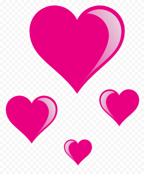 Hd Group Of Pink Floating Hearts Png In 2021 Hd Group Love Png Png