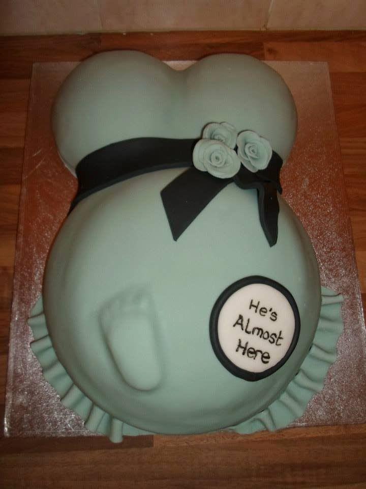 Belly Bump Cake Pops