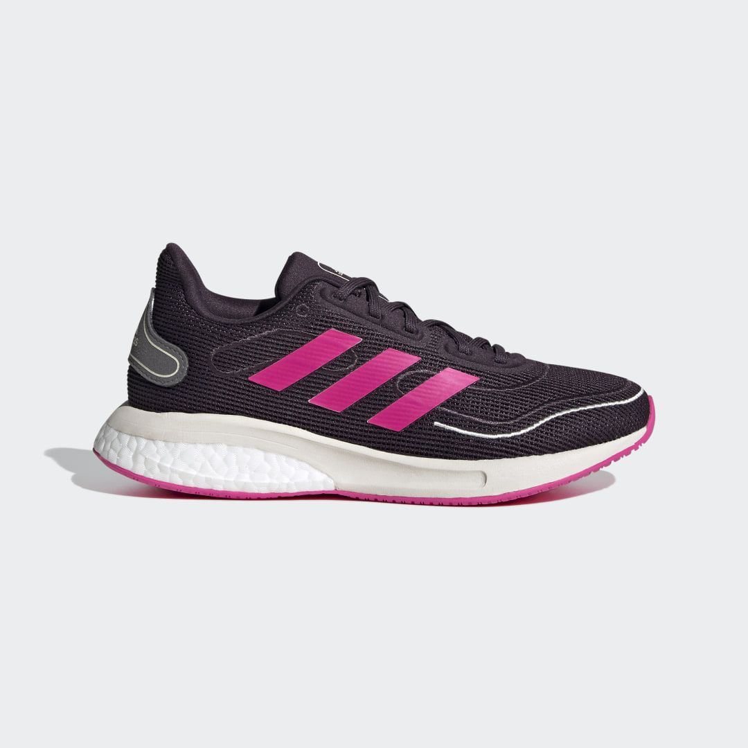 You run to get stronger. You run to get faster. You run to feel your heart pounding, your blood pumping and the wind-in-your-face feeling only running brings. These juniors' adidas running shoes help you chase down your goals. Two kinds of cushioning in the midsole give you flexibility and responsiveness right where you need them. Don't just run down those goals, surpass them.