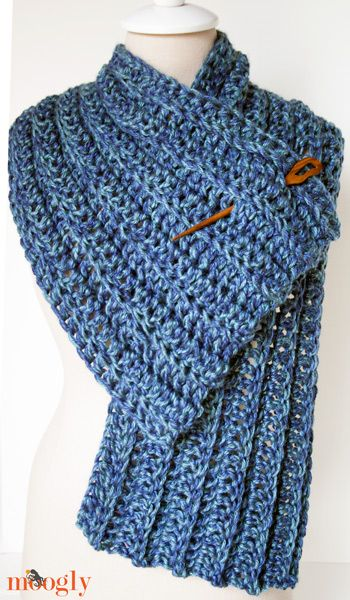 Big Rib Scarf Crochet Pinterest Free Crochet Scarves And Crochet
