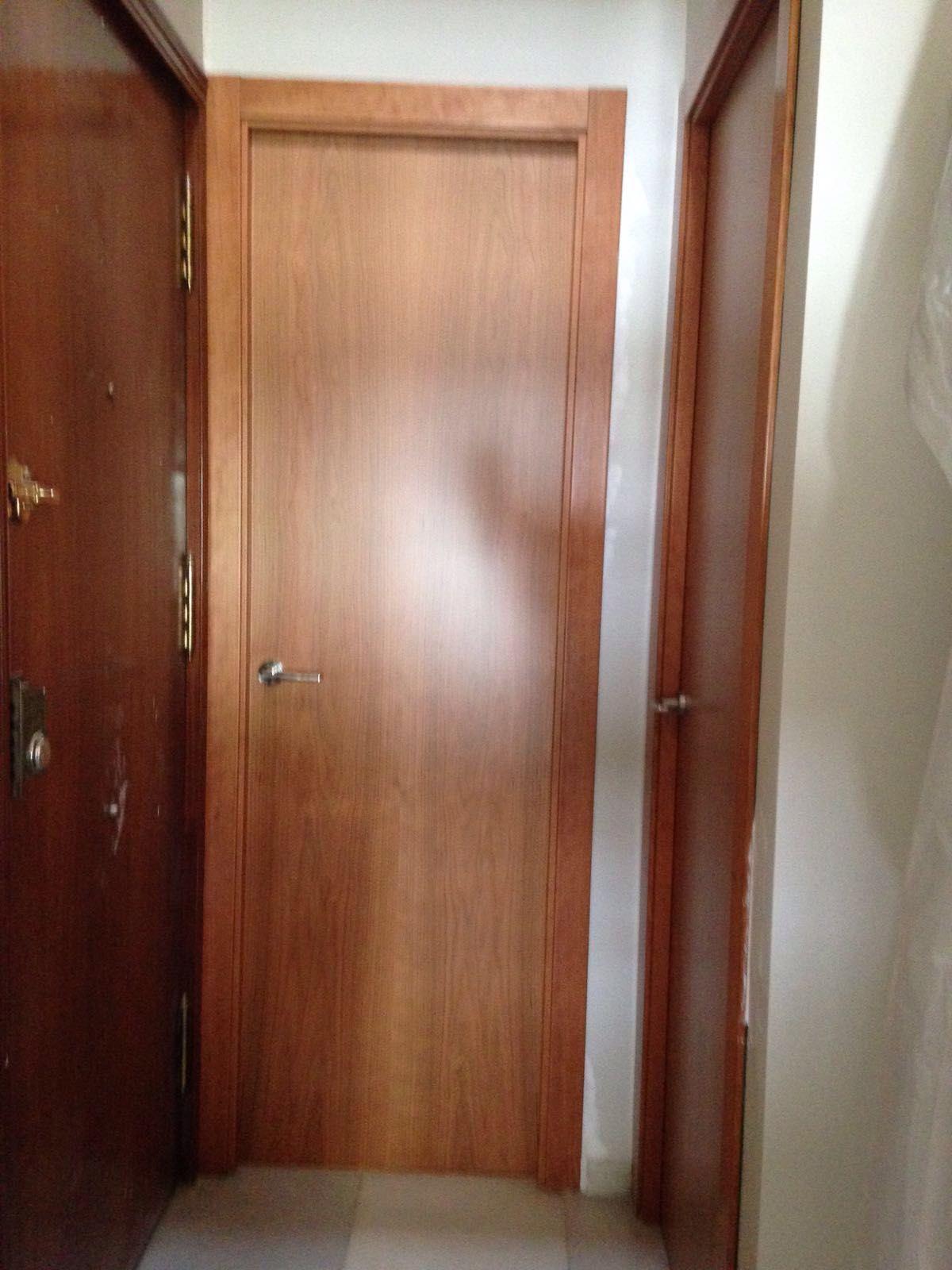 Modelo LYON en Cerezo barnizado. # puertas # armarios ...