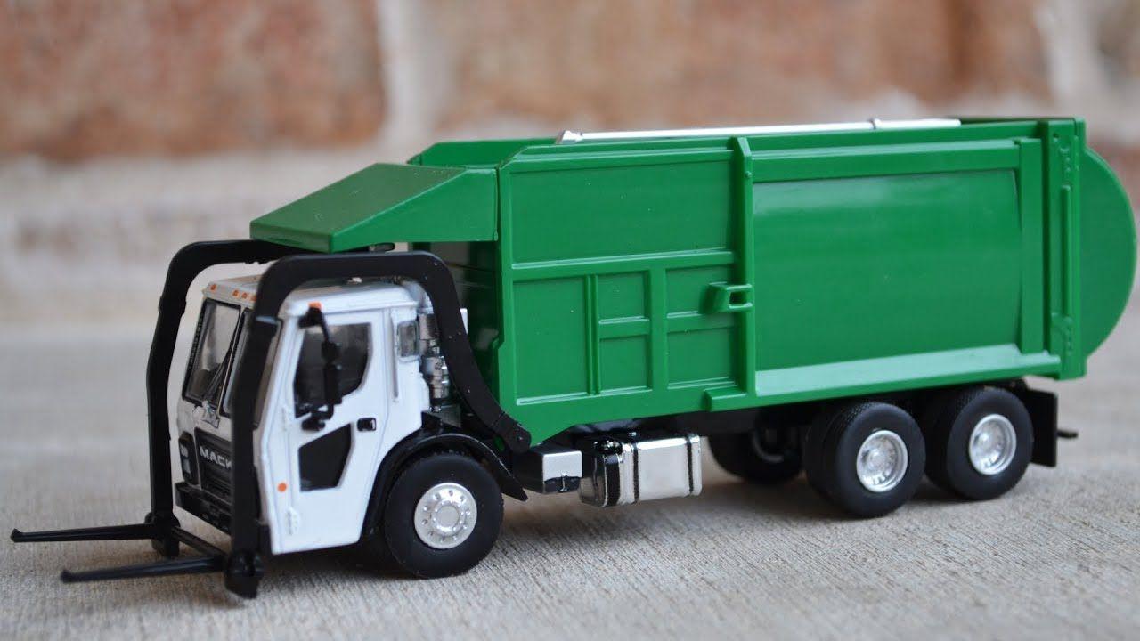 Garbage Truck Videos For Children L Greenlight Mack Lr Trash Truck