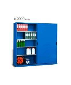 armadio scorrevoli piani 2046x600x2000 mm per ufficio ...