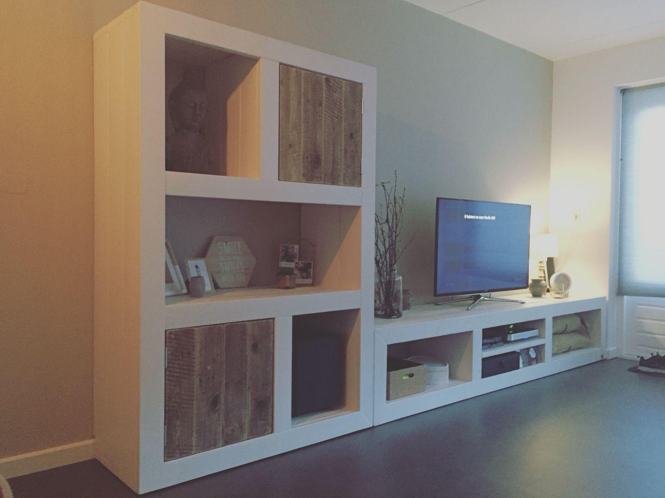Tv Kast Nl : Kast en tv meubel steigerhout by studio fien shop op
