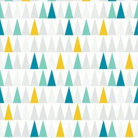 papier peint vinyle expans sur intiss thalie bleu baby. Black Bedroom Furniture Sets. Home Design Ideas