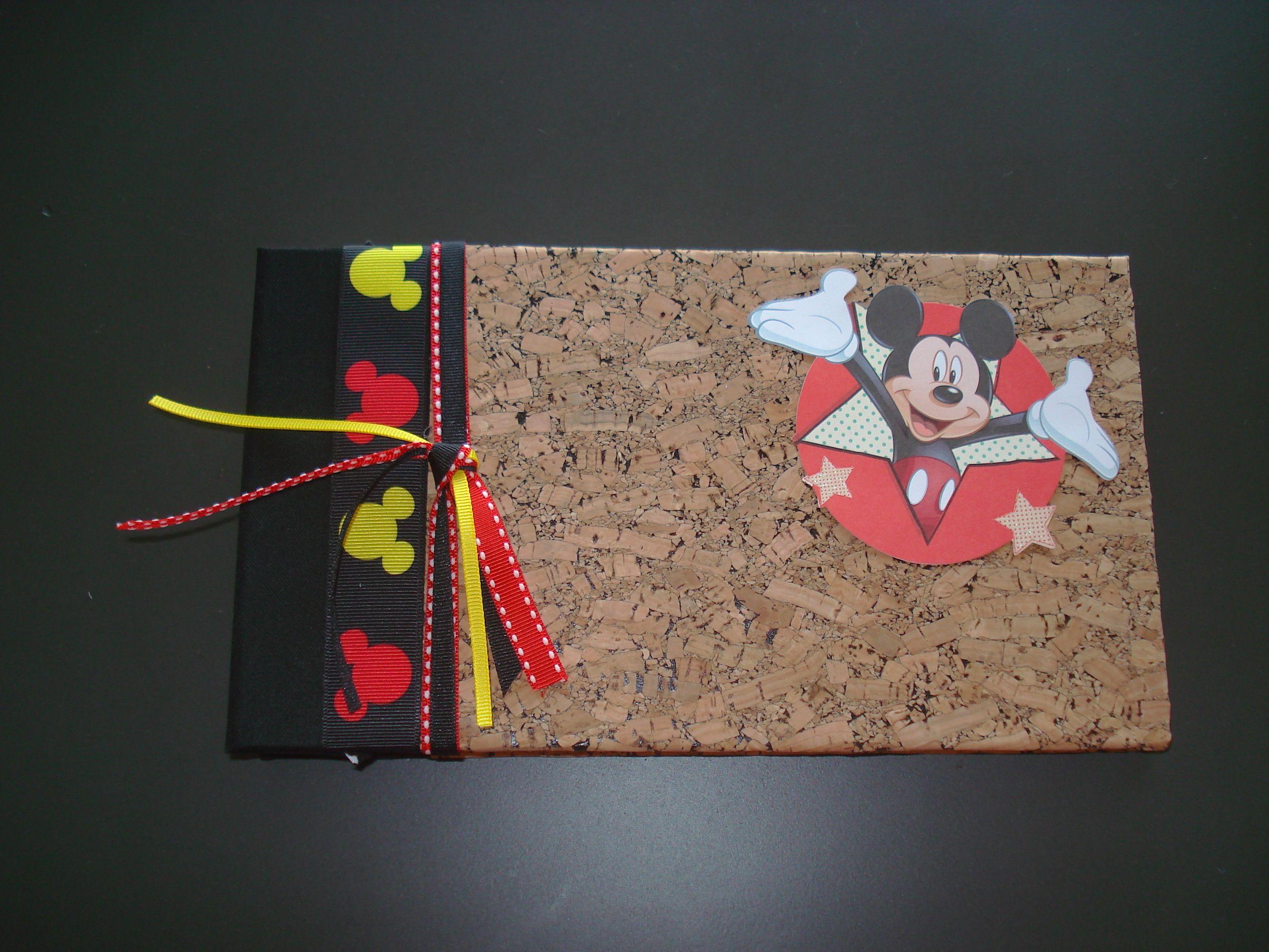 DIY photo album from Amazon.com, added Disney theme for autograph book.