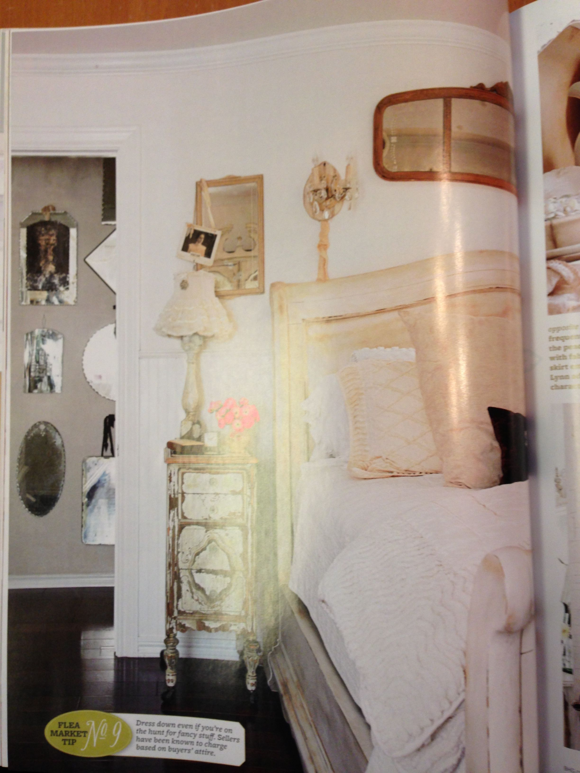 Guest room shades of white