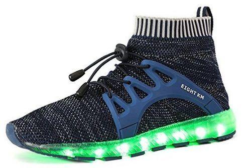 EIGHT KM EKM003 Women   Men LED Shoes Youth Boys Light up Shoes ... a073a061b1