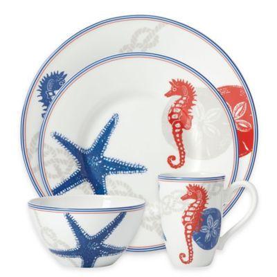 Lenox® Oceanside Dinnerware Collection - BedBathandBeyond.com