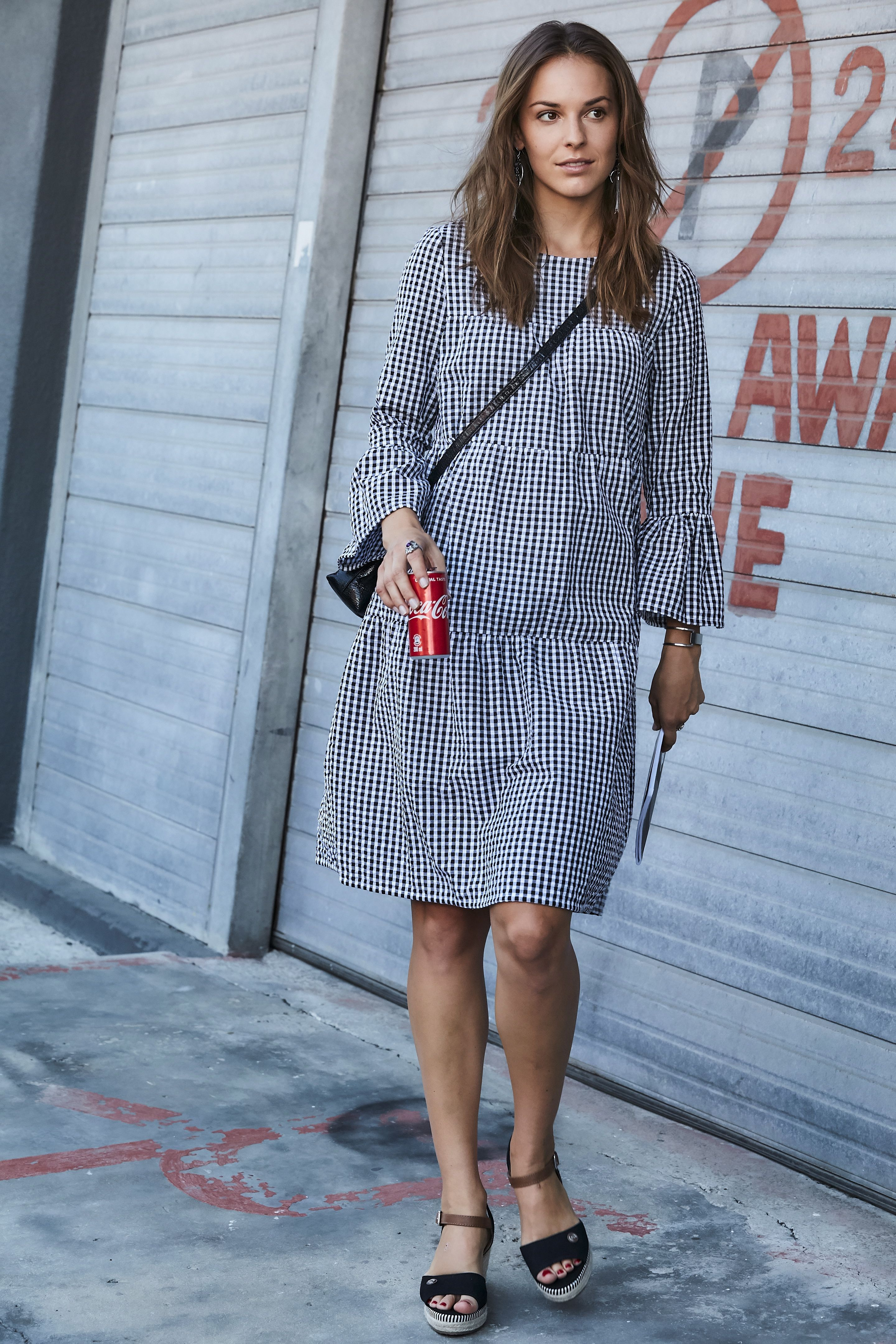 Aniston Kleid in Crépe-Qualität