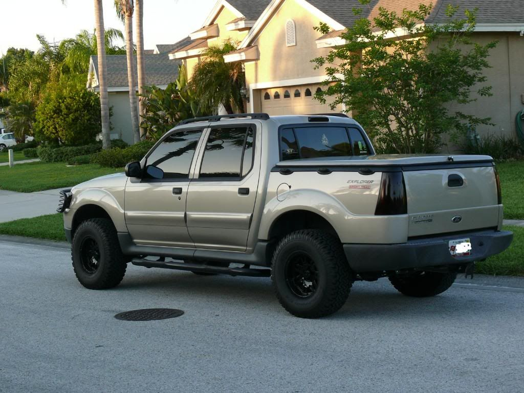 Lifted trucks pinterest sport trac exhausted and ford explorer