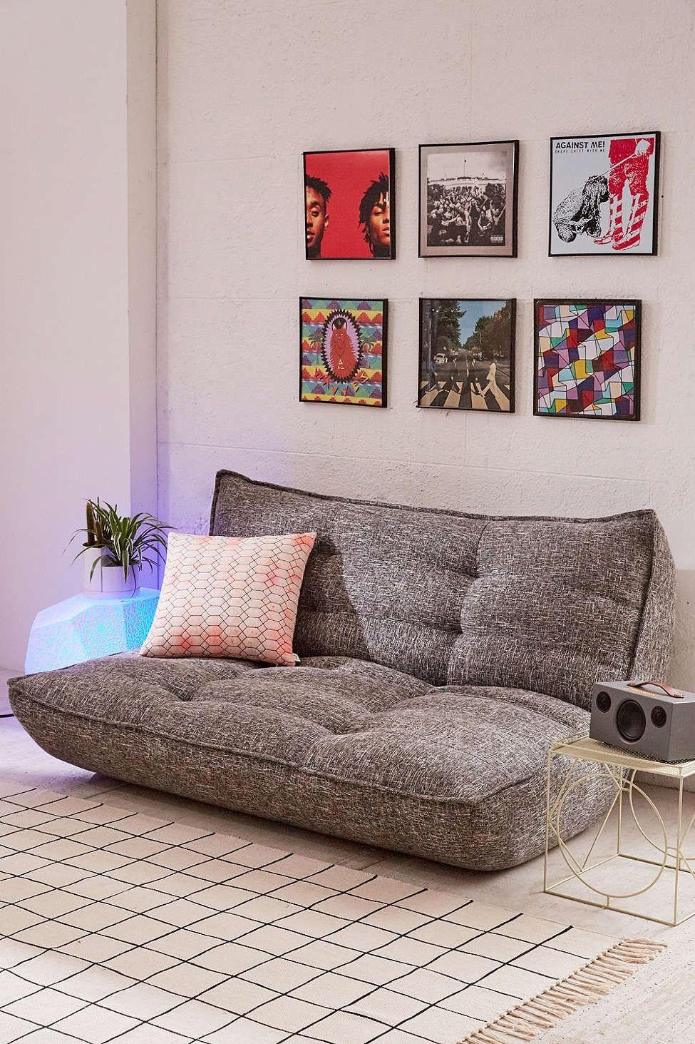 Greta reclining legless sofa urban outfitters urban