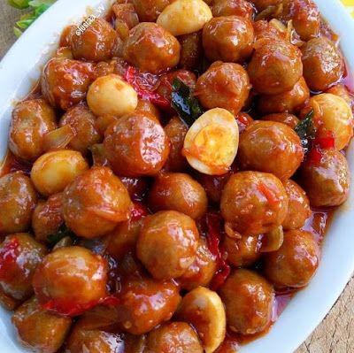 Bakso Pedas Gurih Resep Masakan Resep Masakan