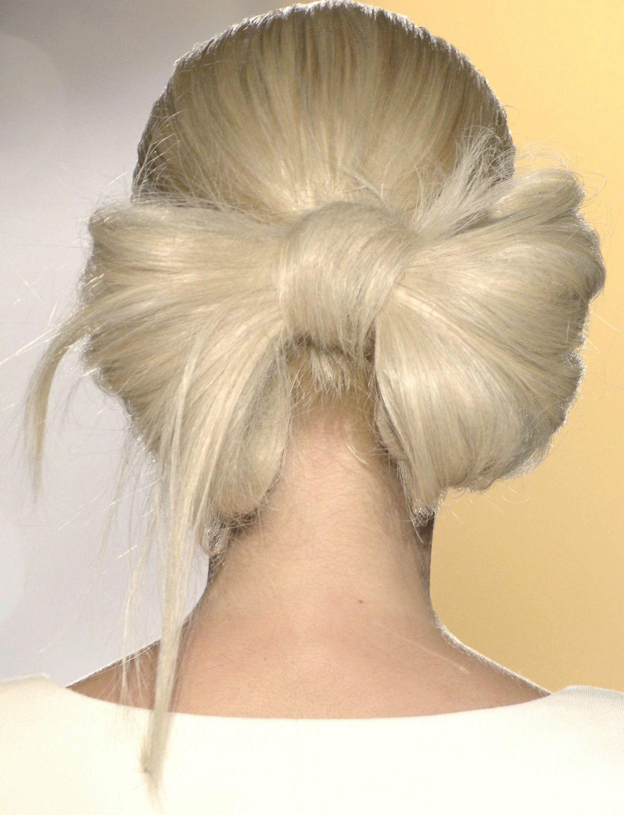 los 100 moños que harán de este recogido el peinado del verano