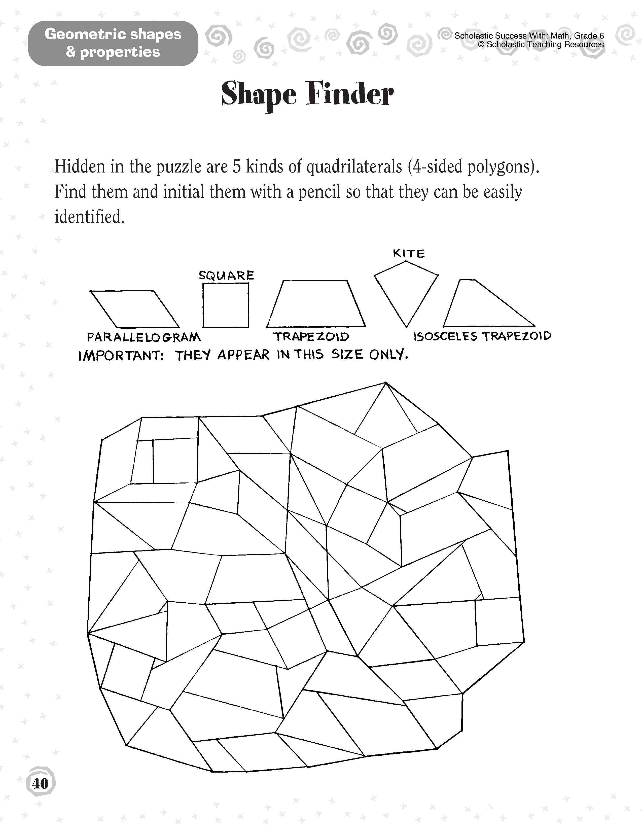 Sorting Shapes Worksheets First Grade Shapes 1st Grade Worksheets In 2020 Education Math Geometry Worksheets How To Memorize Things