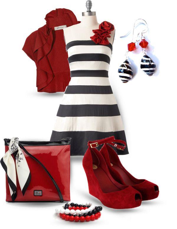 """""""Stripes & Co. 2"""" by yasminasdream on Polyvore"""
