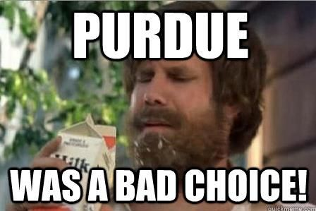 Image result for purdue meme
