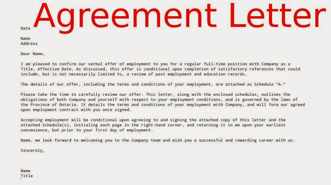 agreement letter termination contract best images business sample - sample employment contract