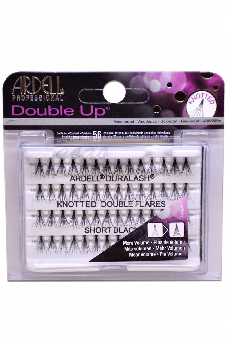 71e586bf9af #Lashes. #Lashes Double Up, Black Lashes, Ardell ...