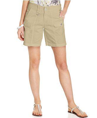 45c55dc1ef Style co. Tummy-Control Bermuda Shorts - Shorts - Women - Macy s ...