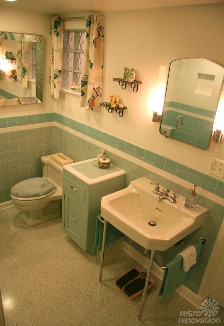 Pics Of Cindy waits years for her sunny retro bathroom remodel