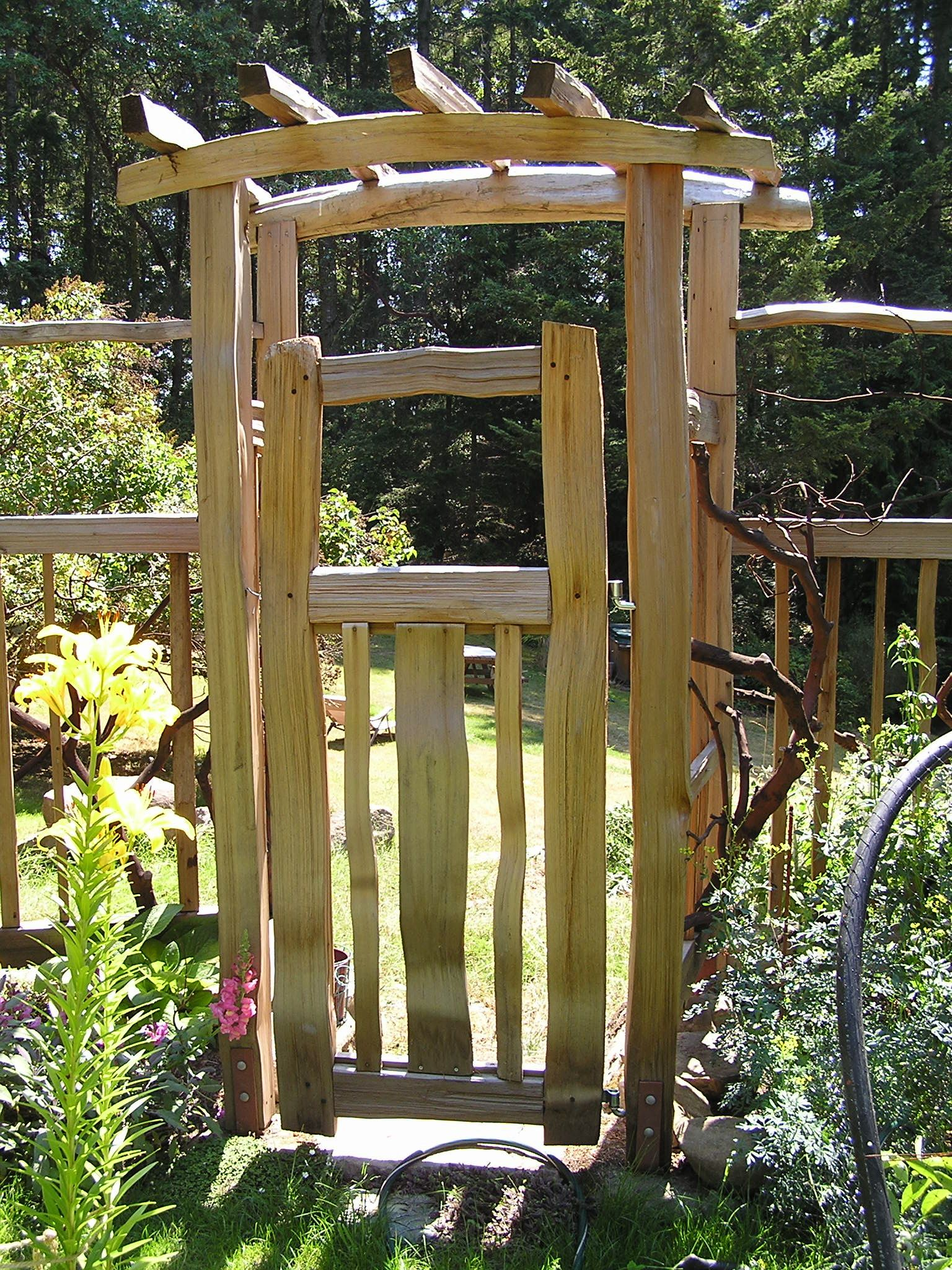Pin by weathertight roofing on gates pinterest garden arbor
