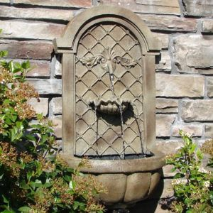 Wall Mounted Water Features Outdoor