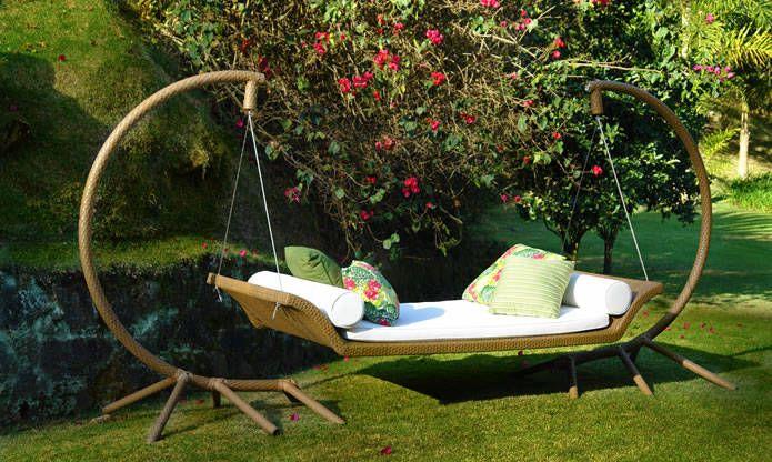 Portal diário Decor, móveis área externa, ver mais em diariodecor.com.br #decoracao  #decor #namoradeira
