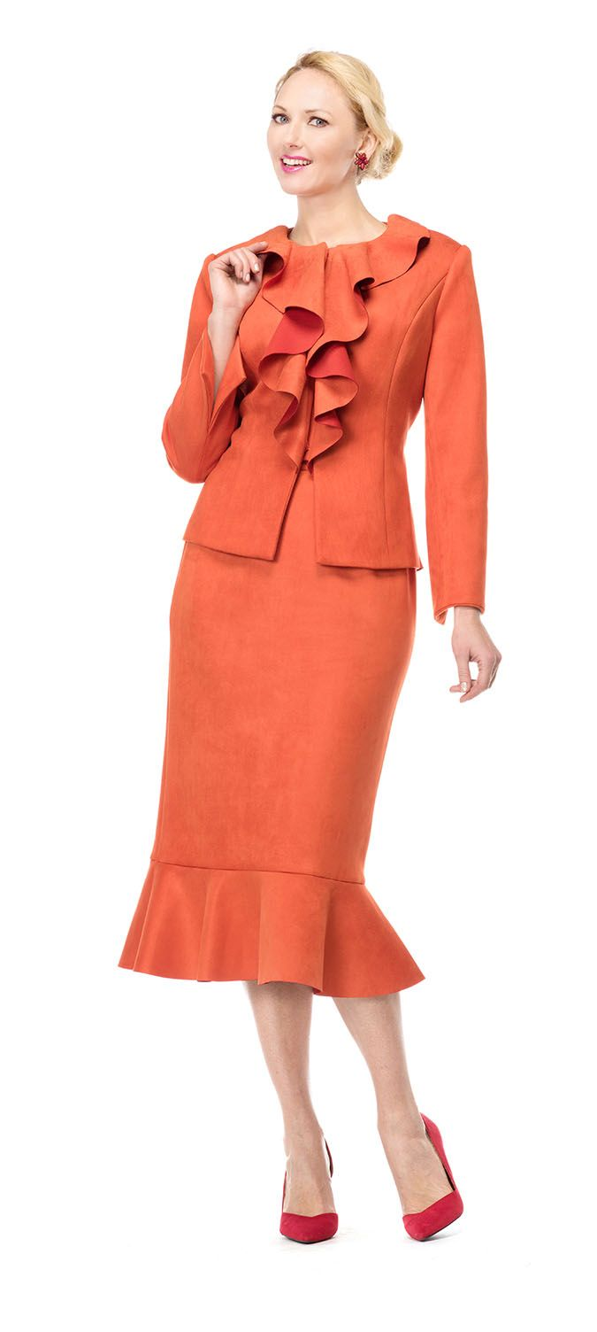 c10729266525 2 piece Moshita Couture skirt suit, knit suede finish. Great church suit,  work suit, party suit, special occasion suit. In missy & plus sizes 8-24.
