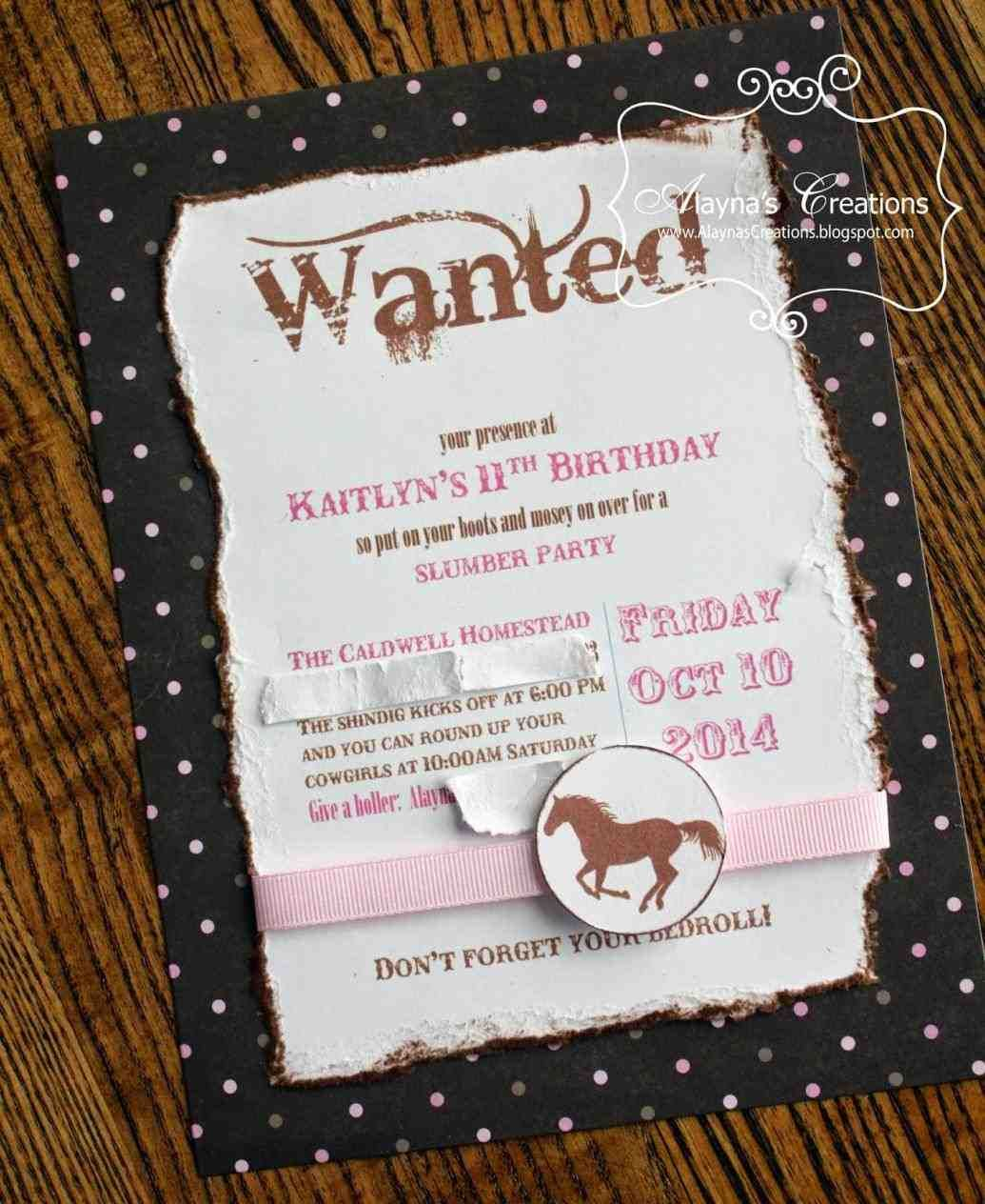 the vintage horse show collection. sugar and spice invitations ...