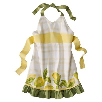 Home Lemon Floral Apron - inspiration for my new kitchen