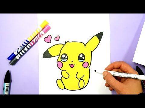 how to draw pikachu youtube