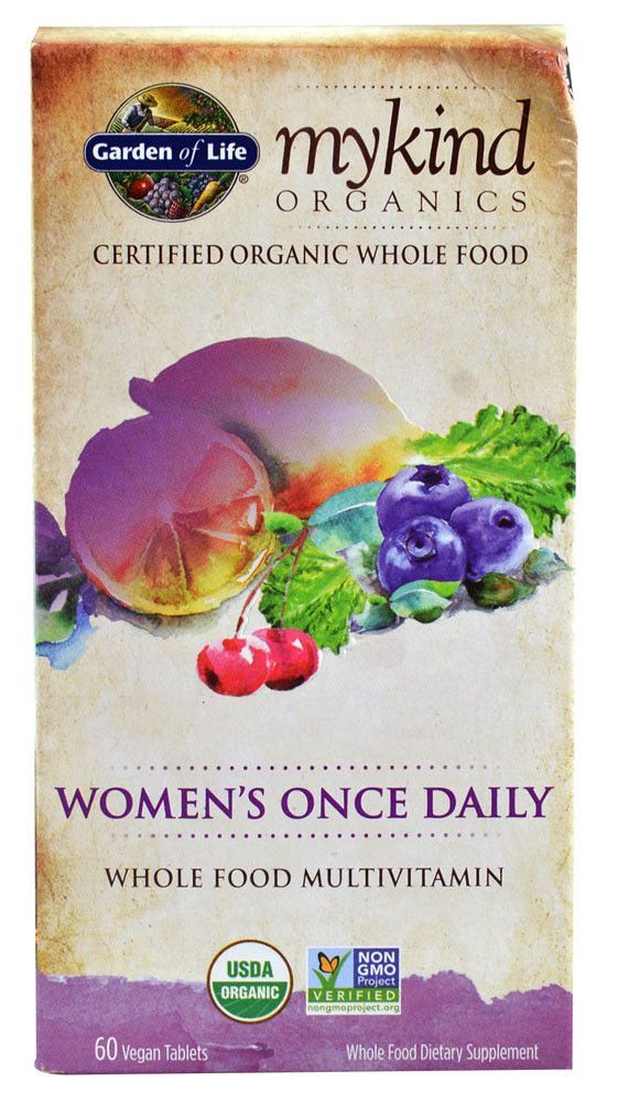Garden of Life mykind Organics Women's Once Daily Whole