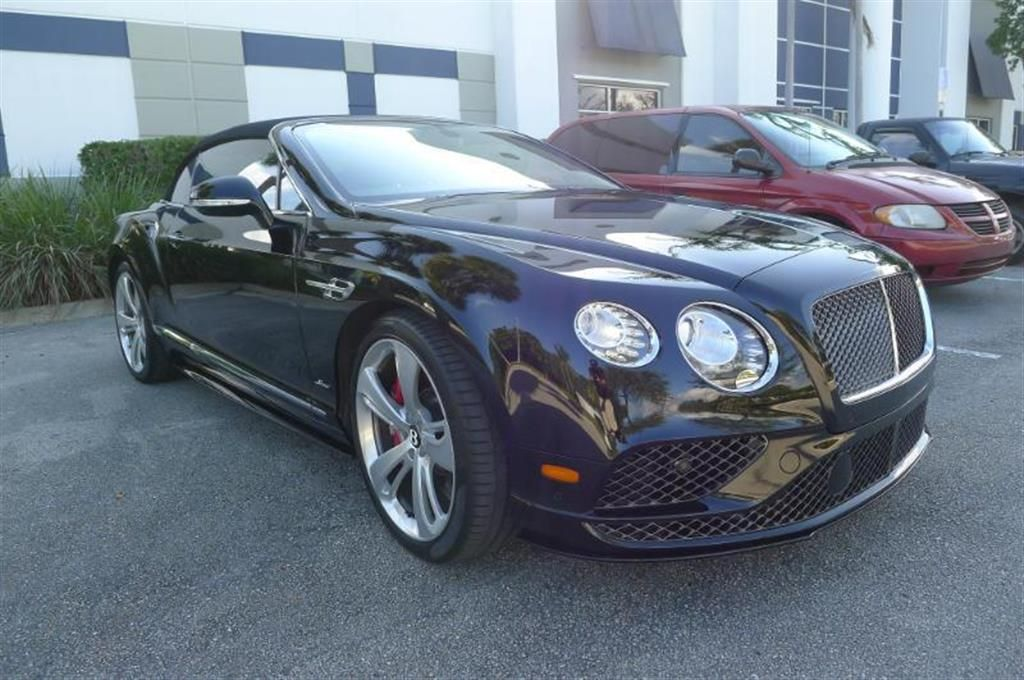 2016 Bentley Continental GTC Convertible V12 Magnusson