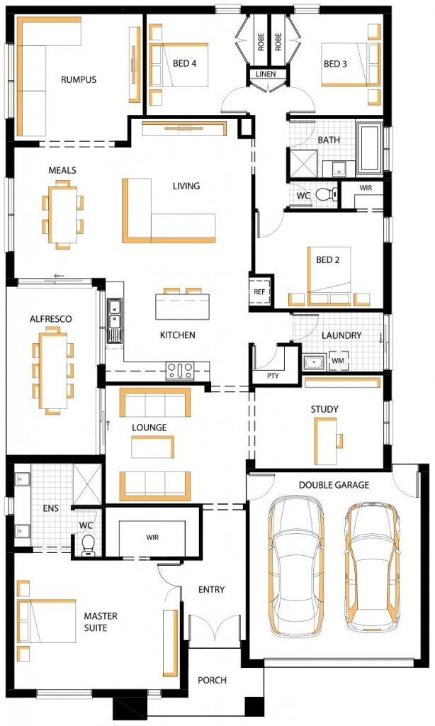 Kilara 28 Floor Plan House House Design House Plans