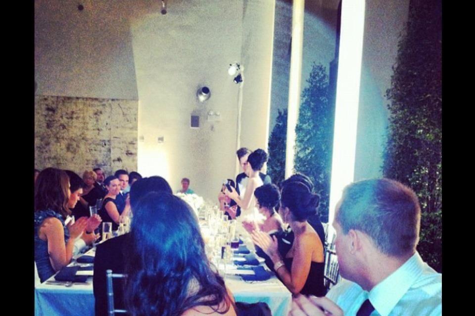 Patrick And Elisa Stump On Their Beautiful Wedding Day
