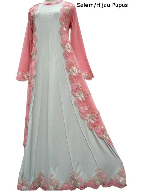 Model Baju Renda Abaya 21