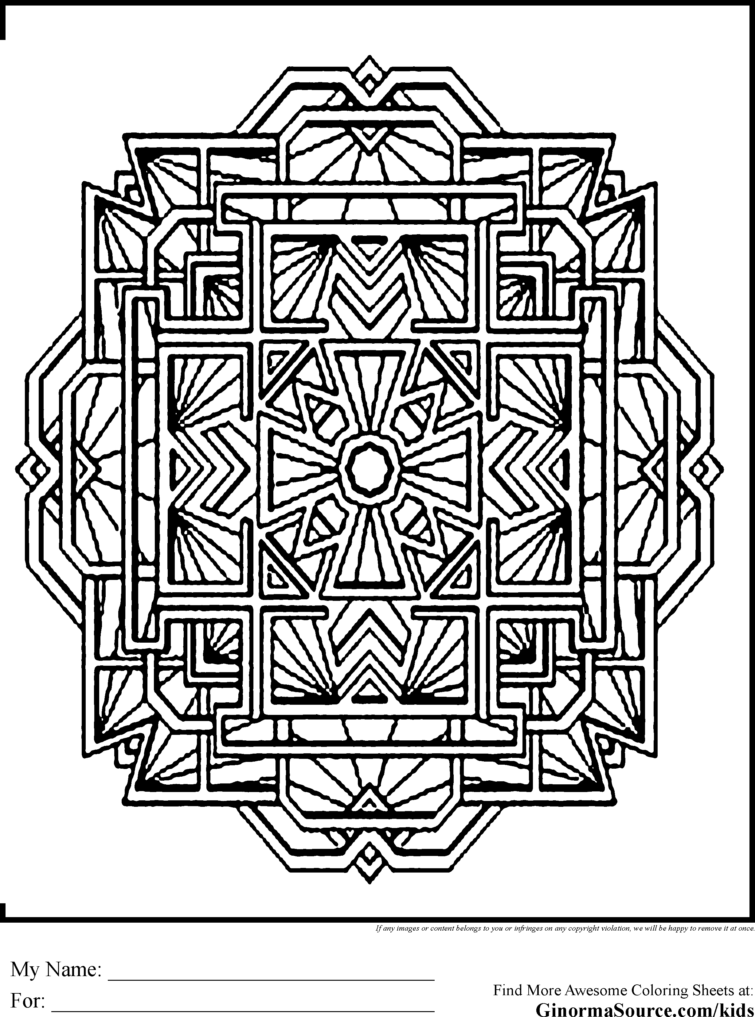 m and m coloring pages advanced coloring pages mandale tibet ginormasource kids - Advanced Coloring Pages 2