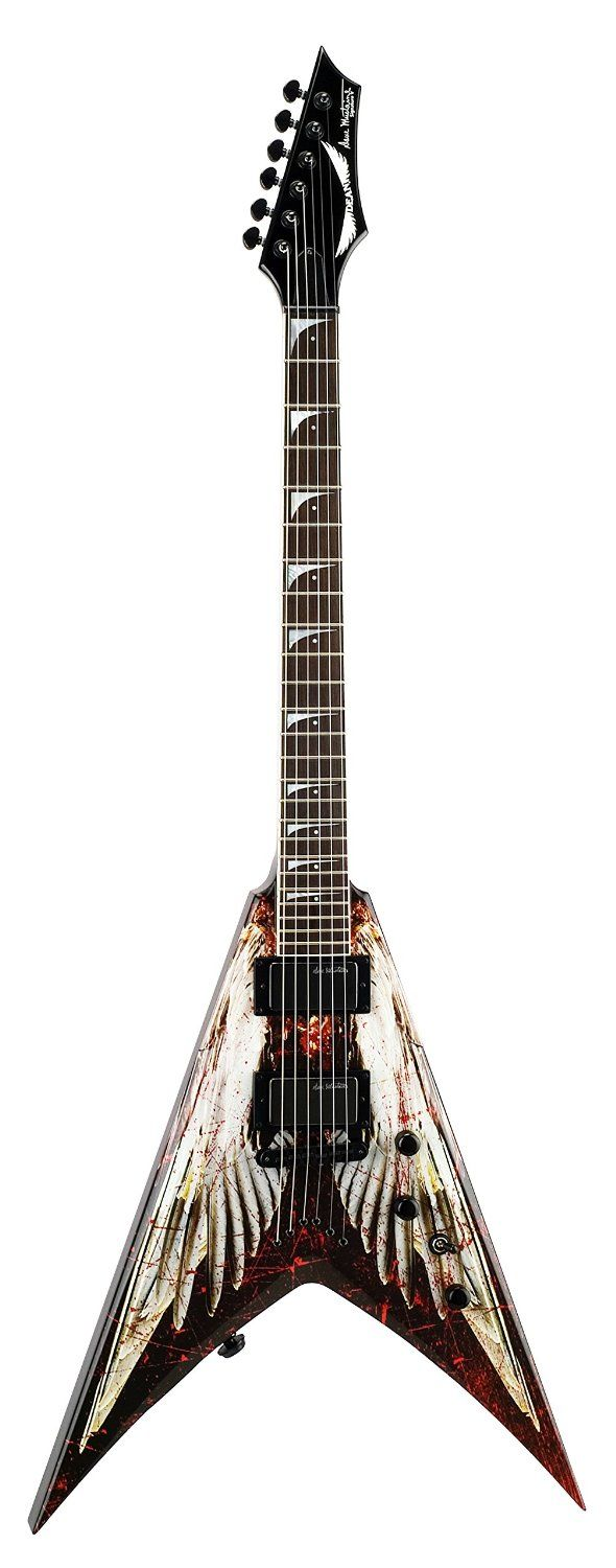 "Are you looking for a new guitar? You can find a selection of DEAN GUITARS including this DEAN VMNT DAVE MUSTAINE ""ANGEL OF DETH ""ELECTRIC GUITAR (free shipping) at http://jsmartmusic.com"
