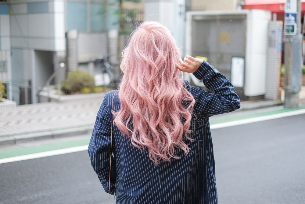 How I Get My Pastel Pink Hair Stella Lee Indonesia Beauty And Travel Blog Pastel Pink Hair Pink Hair Hair Colour Design
