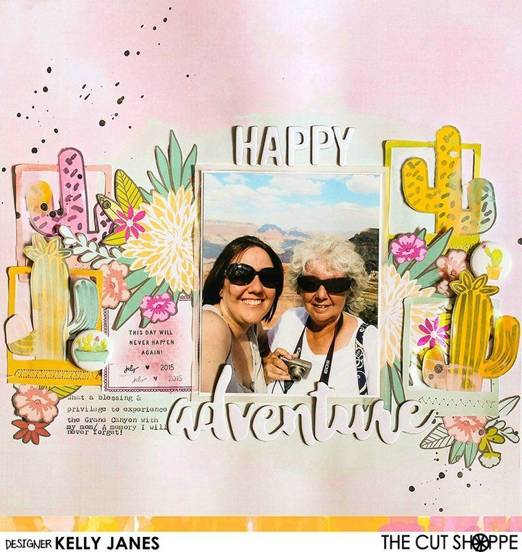 Happy+Adventure - Scrapbook.com