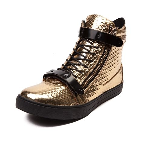 Mens J75 By Jump Zion Casual Shoe In Gold FW 14