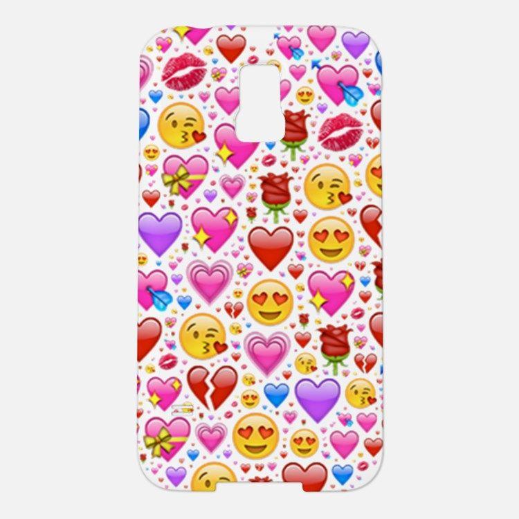 Heart Emoji Samsung Galaxy S5 Case For In 2020 Case Samsung Galaxy S5 Cases Galaxy S5 Case