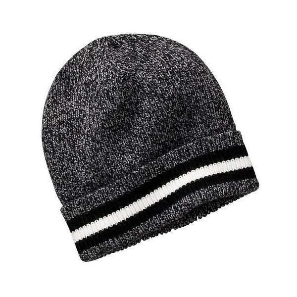 Old Navy Mens Marled Knit Hats ( 7.99) ❤ liked on Polyvore featuring men s  fashion 9bd84366265
